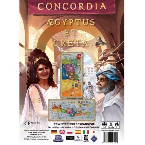 Dodatek do gry concordia. egipt / kreta marki Egmont