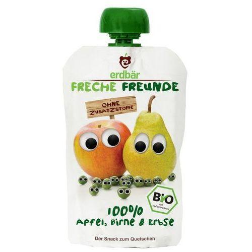 Mus do wyciskania jabłko-gruszka-groszek 100g eko erdbar dla dzieci marki 208erdbar. Najniższe ceny, najlepsze promocje w sklepach, opinie.