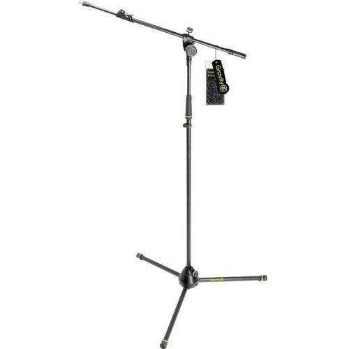 Statyw mikrofonowy  ms 4322 b, 103 ‑ 169 cm, czarny/zielony od producenta Gravity