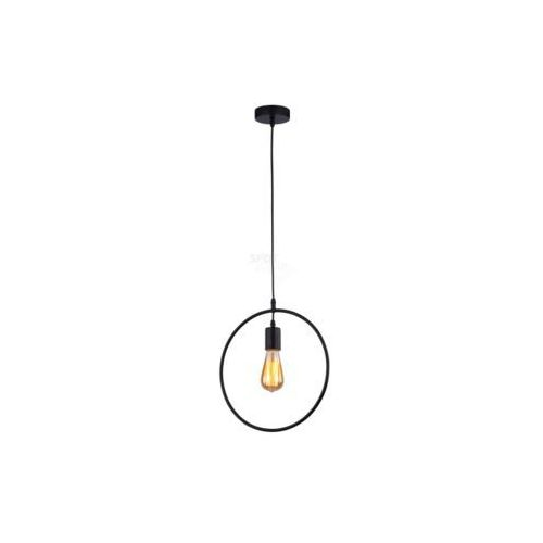 carsten lampa wisząca 1xe27 60w, czarny, metal, 330x900 mm 1650104 marki Spot-light