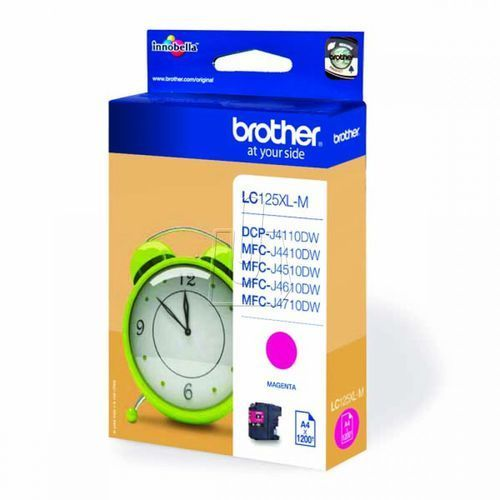 Tusz Brother LC125XLM magenta, 41201