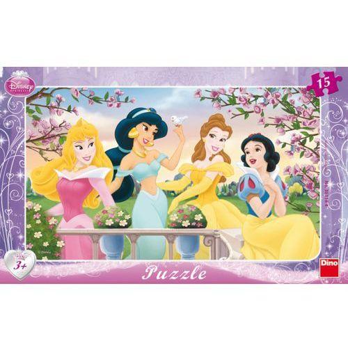 DINO Puzzle Planszowe Księżniczki 15szt, kup u jednego z partnerów