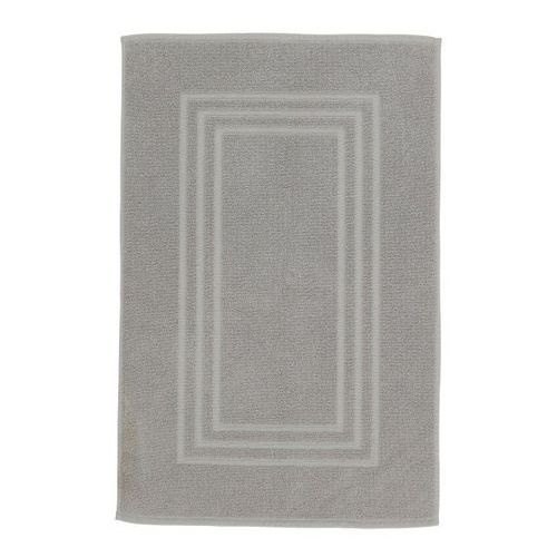 Cooke&lewis Dywanik łazienkowy palmi bawełniany 50 x 80 cm srebrny