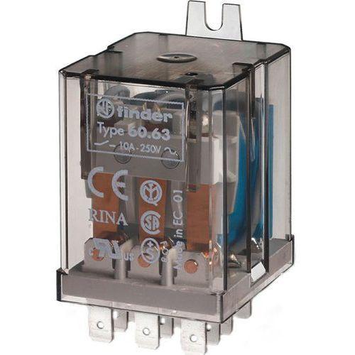 Przekaźnik 3CO 10A 24V DC Finder 60.63.9.024.0000, 60-63-9-024-0000