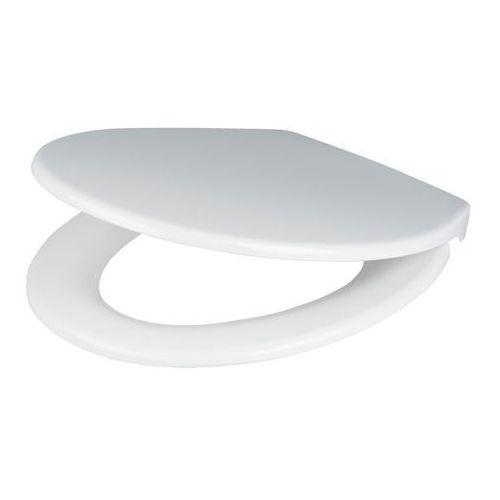 Deska WC Diani z duroplastu wolnoopadająca biała