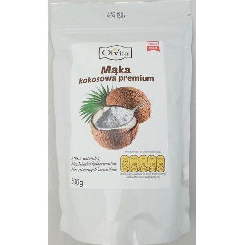 Mąka kokosowa premium 500g -  marki Ol'vita