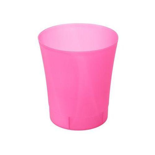 Osłonka na doniczkę 12.5 cm plastikowa różowa ORCHIDEA (5900119193769)