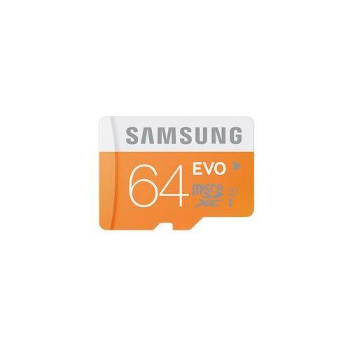 karta pamięci micro sdxc 64gb class 10 evo (transfer up to 48mb/s) marki Samsung