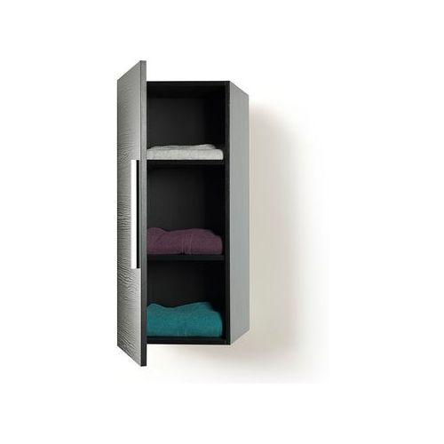 Beliani Meble łazienkowe - szafka wisząca łazienkowa czarna - bilbao, kategoria: szafki łazienkowe