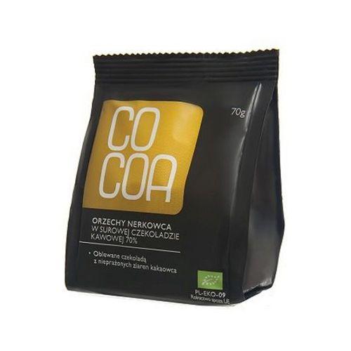 COCOA 70g Orzechy nerkowca w surowej czekoladzie kawowej