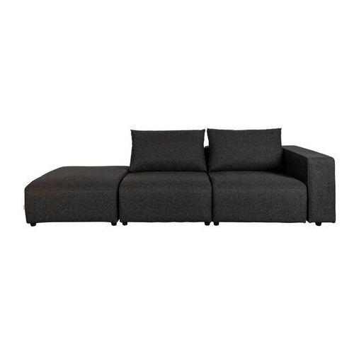 Zuiver outdoor sofa breeze 3-osobowa prawa, antracytowa 3500014