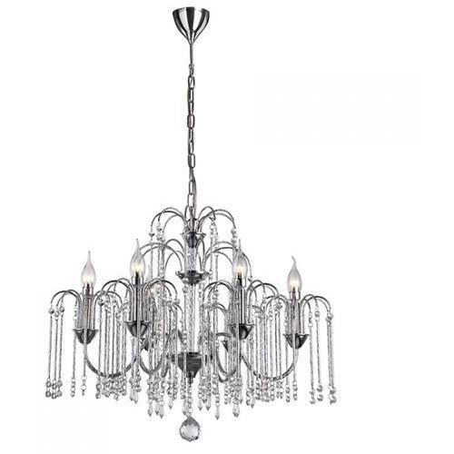 Lampa wisząca quin 6xe14 - bzl, p0354-06b-f4ql italux marki Italux