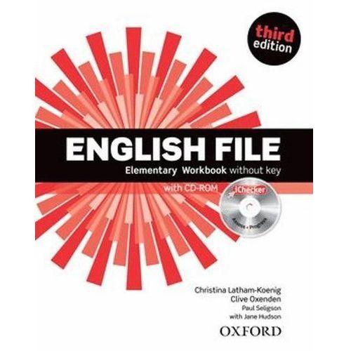 English File New 1 Elementary. Ćwiczenie bez klucza. Trzecia Edycja (9780194598705)