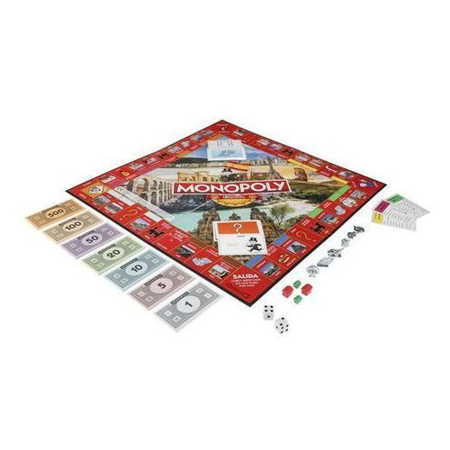 OKAZJA - Gra Monopoly Hiszpania Hasbro