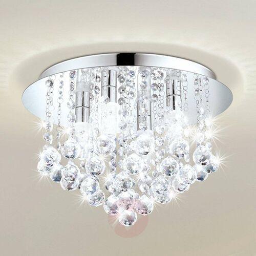 Eglo 97699 - LED Krzystałowe oświetlenie łazienkowe ALMONTE 8xG9/3W/230V IP44