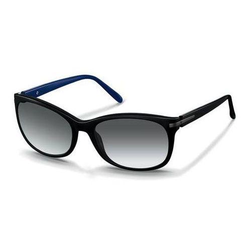 Okulary Słoneczne Rodenstock R3250 A, kolor żółty