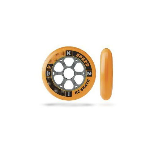 Komplet 4 kółek K2 100mm/85A orange
