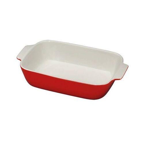 - provence - ceramiczna brytfanna - 30×19 cm - czerwona marki Kuchenprofi