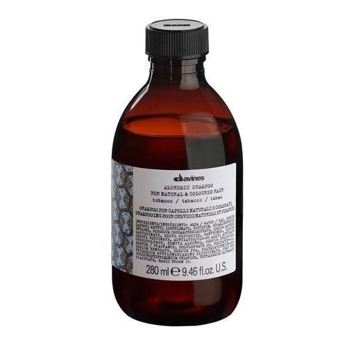 alchemic tobacco - szampon do włosów brązowych i jasnobrązowych 280ml marki Davines