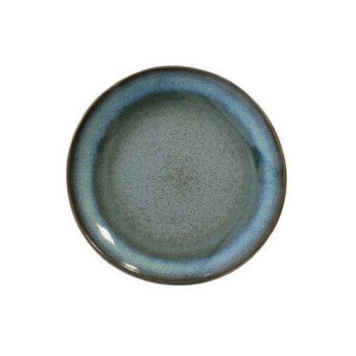 Hk living Hkliving ceramiczny talerz deserowy 70's moss (zestaw 2 szt.) ace6066 (8718921012232)