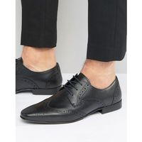 Kg by kurt geiger kenford brogue derby shoes - black marki Kg kurt geiger