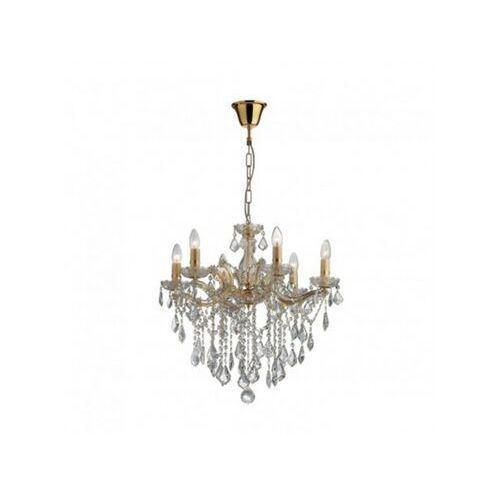 Ideal lux Lampa wisząca florian sp6 oro