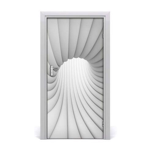 Naklejka samoprzylepna na drzwi Abstrakcja tunel