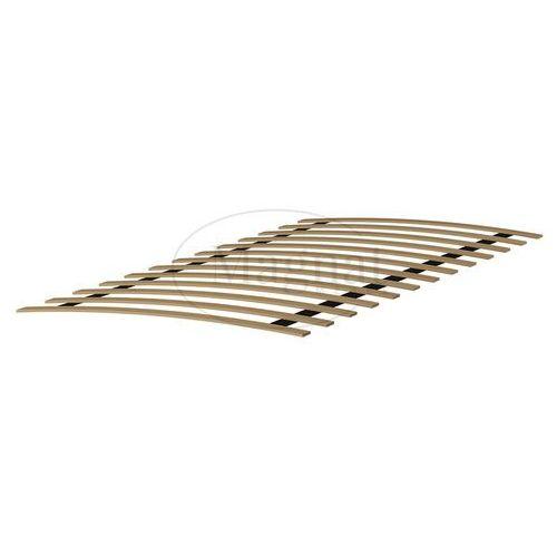 Magnat - producent mebli drewnianych i materacy Łóżko drewniane niwa 90x200 białe