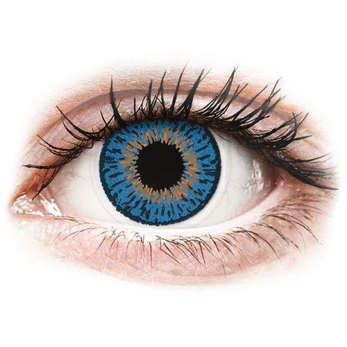Expressions colors dark blue - zerówki (1 soczewka) marki Coopervision