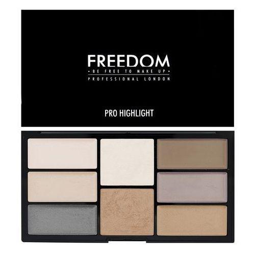 Freedom, Pro Highlight Palette, Paleta rozświetlaczy, towar z kategorii: Pozostały makijaż