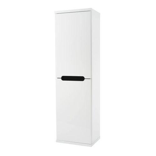Słupek łazienkowy wysoki Deftrans Bloom 40 cm biały, 242-C-04003