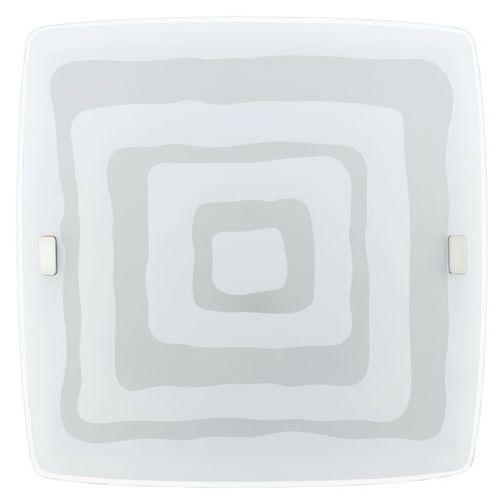 Plafon borgo 93283 lampa oprawa sufitowa 1x16w biały marki Eglo