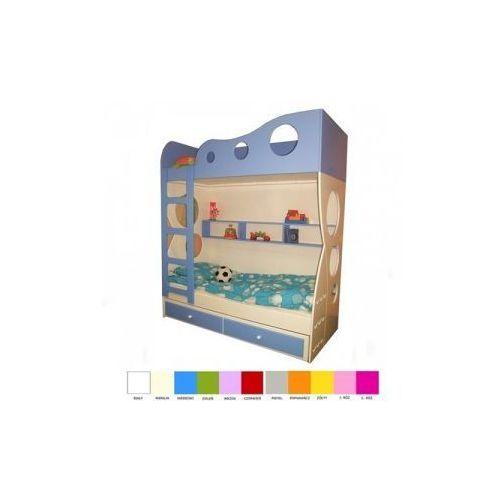 Łóżko piętrowe 180x90 FALA, 3059-57292