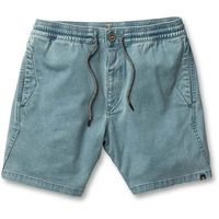 Volcom Szorty - flare short vintage blue (vbl) rozmiar: l