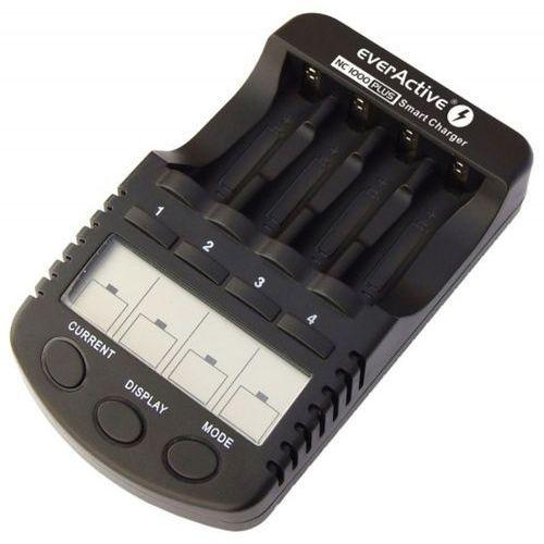 Everactive Ładowarka nc-1000 plus + akumulatory r6/aa fujitsu 2550mah