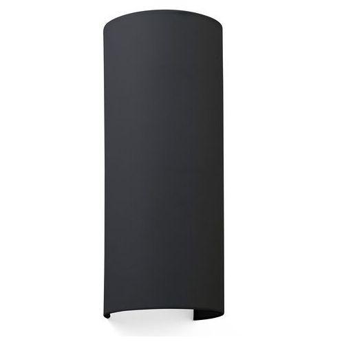 Faro barcelona Lampa ścienna cotton, falista, 37 x 15 cm, czarna