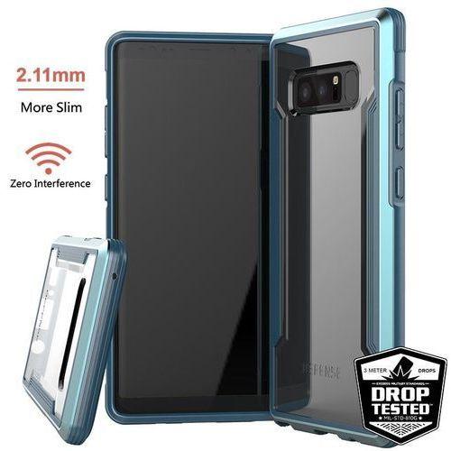 X-Doria Defense Shield - Etui aluminiowe Samsung Galaxy Note 8 (2017) (Blue), kolor niebieski