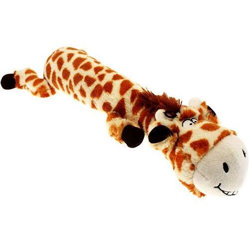 Duża zabawka dla psa z piszczałką - pluszowa żyrafa  marki Happypet
