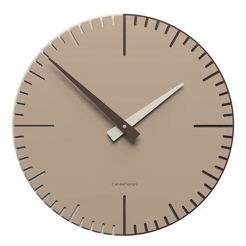 Zegar ścienny do kawiarni Exacto 36 cm CalleaDesign caffelatte (10-025-14)