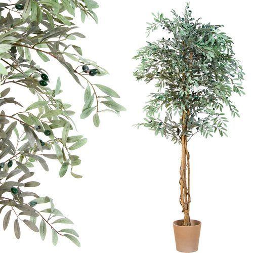 Greentree Sztuczne drzewo oliwka drzewko oliwkowe oliwne
