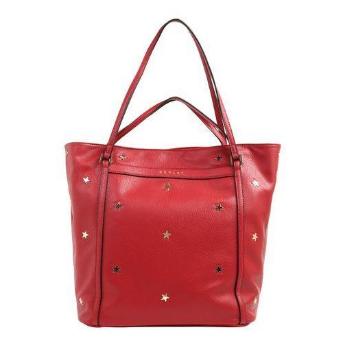Replay torba shopper czerwony
