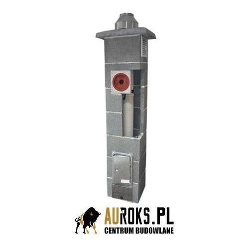 Komin k do kotłów kondensacyjnych fi 80 11,5 m + pion techniczny marki Jawar