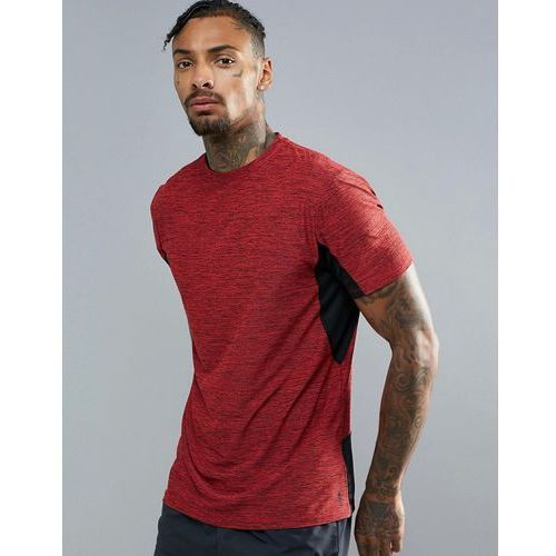 New Look SPORT T-Shirt In Red And Black - Red