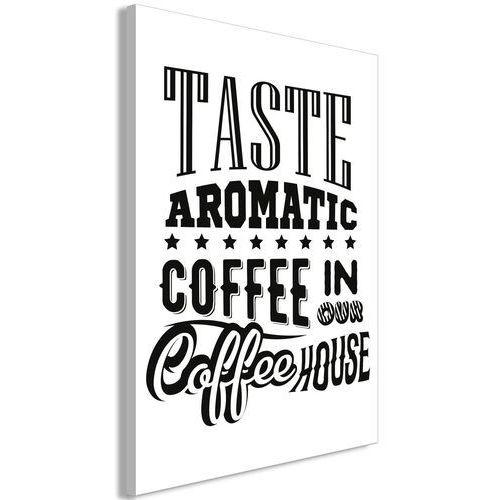 Artgeist Obraz - taste aromatic coffee in our coffee house (1-częściowy) pionowy