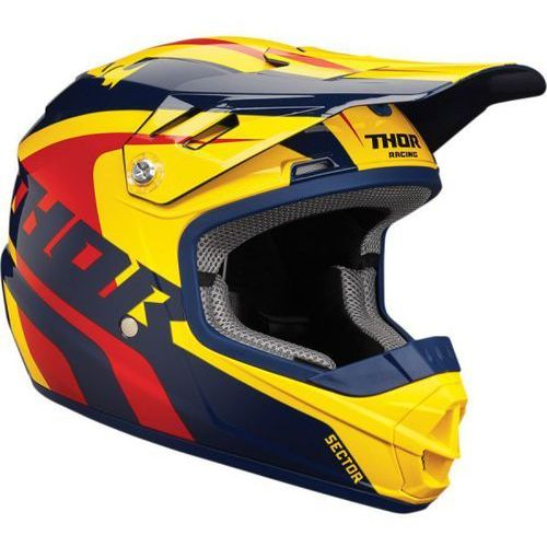 THOR KASK YOUTH SECTOR RICHOCHET NAVY/YELLOW =$