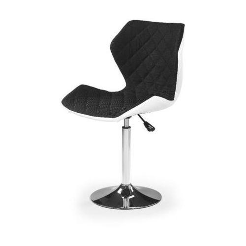 Swage 2 fotel młodzieżowy czarno-biały marki Style furniture