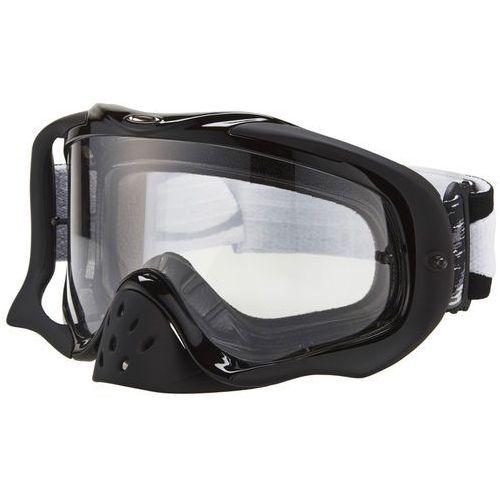 Oakley crowbar mx goggles, jet black speed/clear 2019 gogle