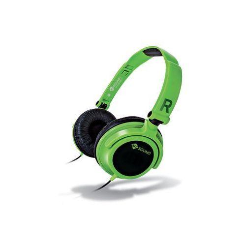 Słuchawki nauszne MELICONI Cuffia Speak Smart Fluo Zielony