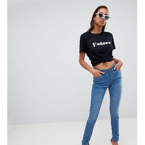 Boohoo High Rise Skinny Jeans - Blue, kolor niebieski