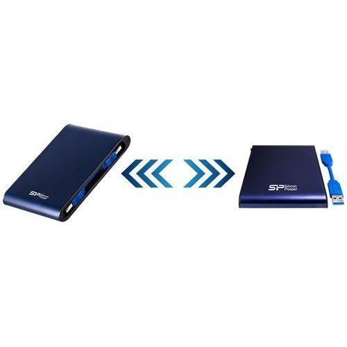"""Dysk zewnętrzny Silicon Power Diamond D30 2TB 2,5"""" USB 3.0 IPX4 czarny, SP020TBPHDD3LS3K"""